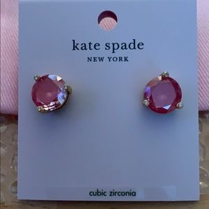 Kate Spade RISE AND SHINE Coral Studs.